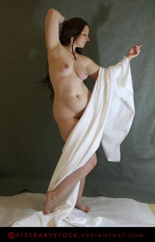 Nude: Satin 7 by fierystock
