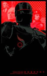 ROBOCOP - movie poster by P-Lukaszewski