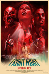 FRIGHT NIGHT - movie poster by P-Lukaszewski