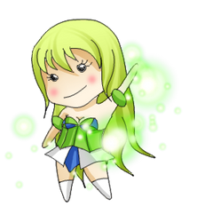 Elsword: Chibi Rena by Estelly