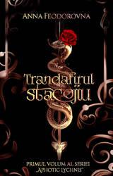 Trandafirul stacojiu -  wattpad book cover by Zontah