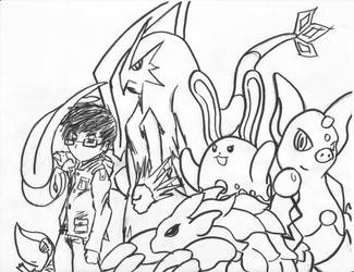 My pokemon team by kangurocow