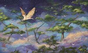 Forest in the Sky by TeaCi