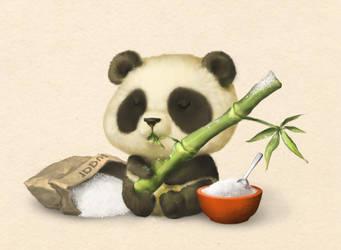 Chubbs- Panda by TeaCi