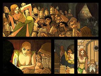Warlord Webcomic Page 1 by jeffwamester