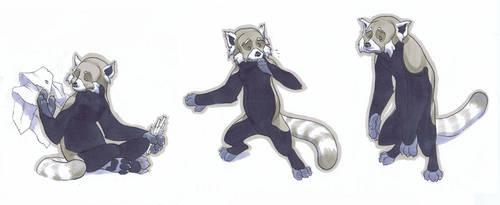 Fire Fox Emots by jeffwamester