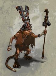 Monkey Boy, A king of Nothing by jeffwamester