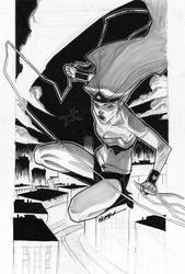 Wonder Woman Sketch by jeffwamester