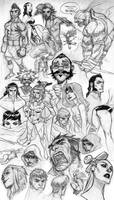 Super Sketch Dump by jeffwamester