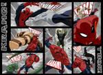 USM203 Spiderman Beatdown Comic Page by jeffwamester
