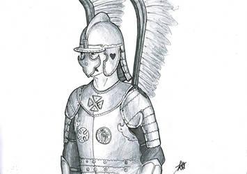 Winged Hussar by RoranHawkins