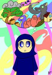 (Drawing) Imagination by Rai-Bunbun