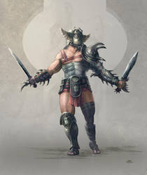 Scarab Gladiator by Kid-Eternity