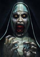 Valak Unleashed by Kid-Eternity