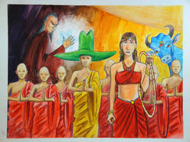 Dream20070505 - Buddhist Radicals by Contraltissimo
