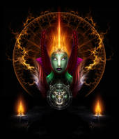 Riddian Queen Of Fire by xzendor7