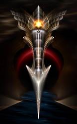 The Acronis Dagger by xzendor7