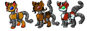 [CLOSED] Cervulp + Siren Hybrid Collab Auctions! by royalraptors