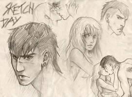 sketchydoodleday by Sami06