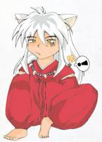 Doggie Yasha irritated by Lirin
