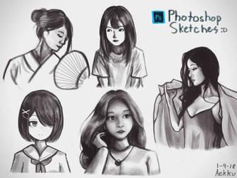 Portrait Practice 1 by Aekku