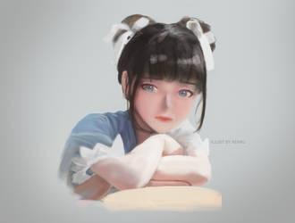Portrait Practice 2 by Aekku