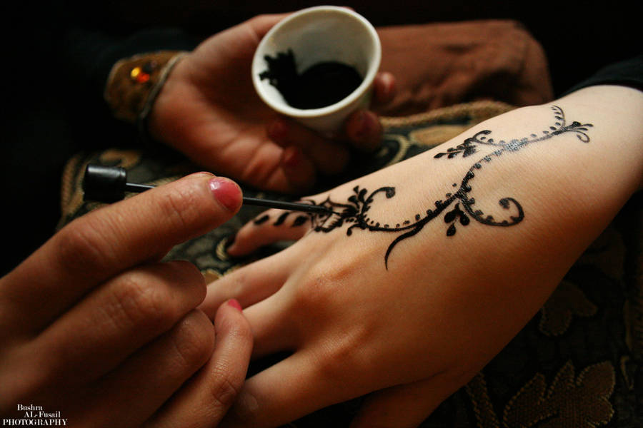 Yemeni Black Henna By Bushragallery On Deviantart