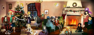 Merry Christmas by caly-graphie