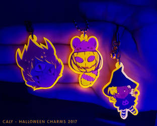 Halloween charms by caly-graphie