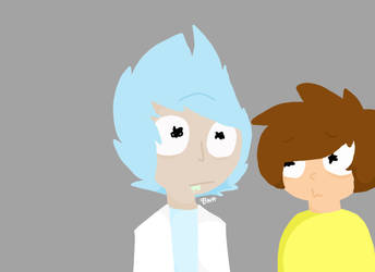 Rick and Morty by Fellberry00Kitt