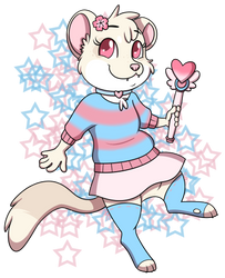[art fight 2018] Mochi! by VIcTobious