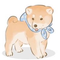 A cute puppy by anonymouse-creations