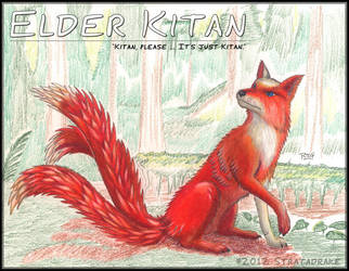 Elder Kitan by Stratadrake