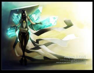LEAV - Crystal Priest by Sayael