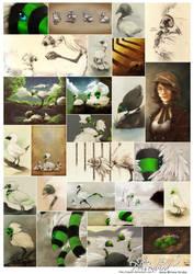Poisonbird - Poster by Sayael