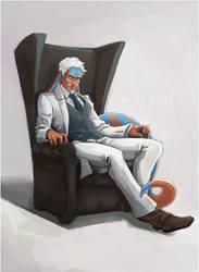 Commission - Samuel Colt by Sayael