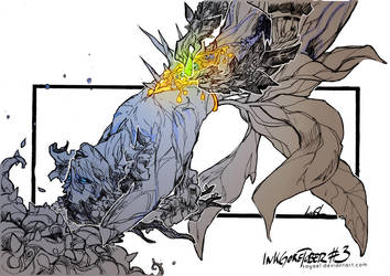 InkGoretober - #03 by Sayael
