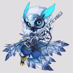 Overwatch - SnowOwl Ana by Sayael