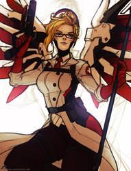 Overwatch - Medic Mercy by Sayael