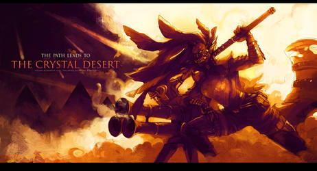 GuildWars2 - Journey to the Crystal Desert by Sayael