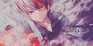 [SIGN] My Hero Academia - Todoroki Shoto by Sakuraro