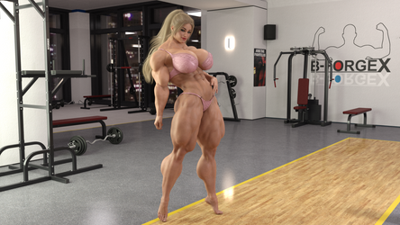 Elisabeth Gym 2 by RICKTOR31