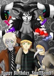 Happy Birthday, SnuffBomb! by ShadowsNeko