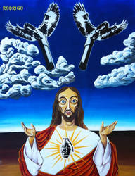 Jesus Parabellum by RodrigoFigueredo