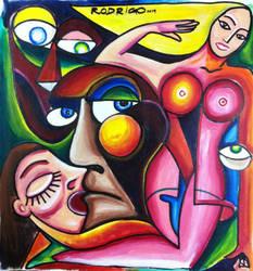 The kiss by RodrigoFigueredo