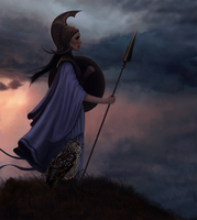 Athena by J-Rickey
