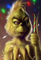 The Grinch by J-Rickey