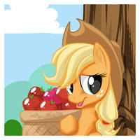Applejack Tree by mysticalpha
