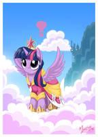 Princess Twilight Sparkle by mysticalpha