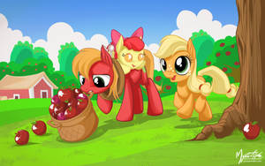 Apple Fillies by mysticalpha